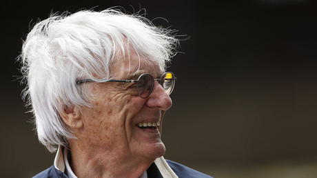 President and CEO of Formula One Management Bernie Ecclestone. © Andrew Boyers