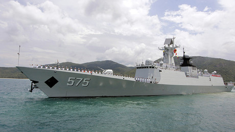 FILE PHOTO: Chinese naval missile frigate Yueyang © Stringer