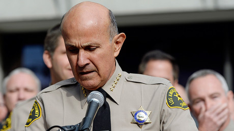 Los Angeles County Sheriff Lee Baca © Kevork Djansezian