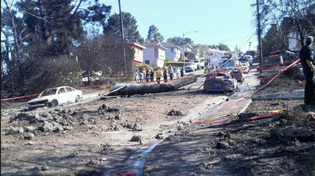FILE PHOTO: 2010 San Bruno pipeline explosion © wikipedia.org