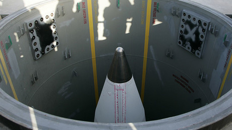 A long-rage ground-based missile silo, Vandenberg Air Force Base in California. © Kacper Pempel