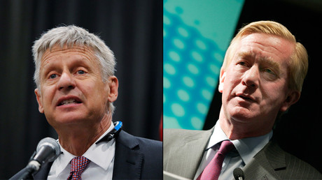 Gary Johnson and Bill Weld © Reuters