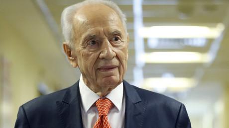 Former Israeli President Shimon Peres © Baz Ratner
