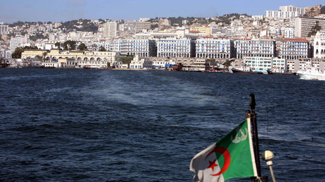 A general view shows the bay of the Mediterranean port of Algiers © Zohra Bensemra