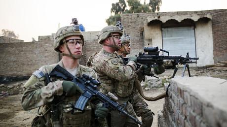 U.S. soldiers © Lucas Jackson