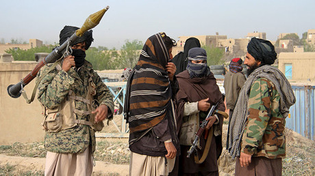 Taliban fighters. ©Reuters