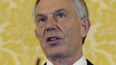Former British Prime Minister Tony Blair. ©Stefan Rousseau