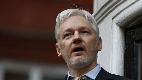 Assange made the comments on Dutch television about a DNC staffer's murder. © Peter Nicholls