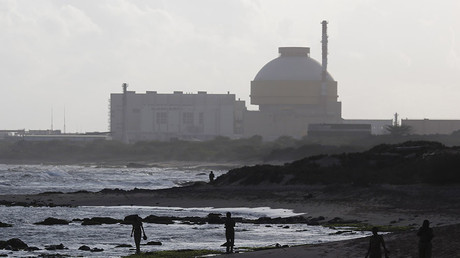 Kudankulam nuclear power project, southern Indian state of Tamil Nadu. © Adnan Abidi