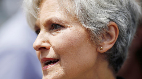 Green Party presidential candidate Jill Stein. © Dominick Reuter