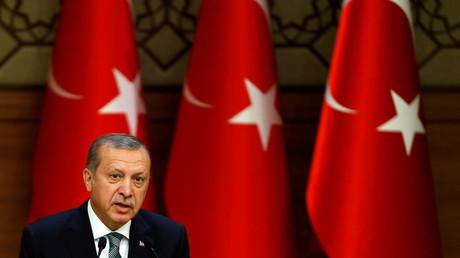 Turkish President Tayyip Erdogan © Umit Bektas