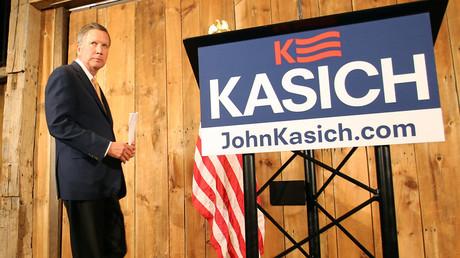 Ohio Governor John Kasich © Aaron Josefczyk