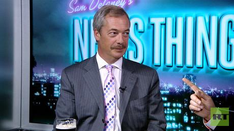 Nigel Farage's mustache