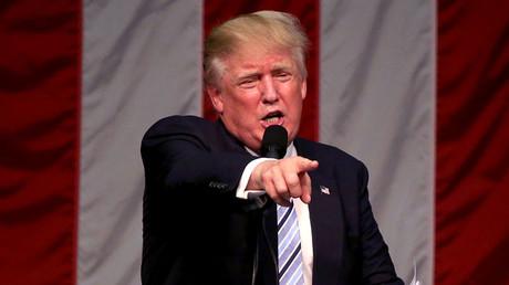 Republican presidential nominee Donald Trump. © Michelle McLoughlin