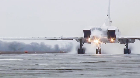 A Tupolev Tu-22 M3 strategic bomber of the Russian Aerospace Force © Ministry of defence of the Russian Federation