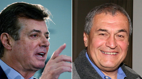 U.S. Republican presidential candidate Donald Trump's campaign chair and convention manager Paul Manafort (L) and American lobbyist Tony Podesta (R). ©Reuters / Wikipedia