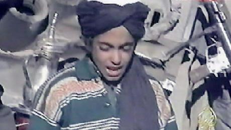 Hamza, the youngest son of Osama bin Laden. ©AFP / AL-JAZEERA