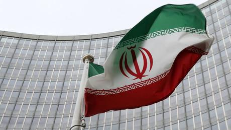 An Iranian flag © Leonhard Foeger