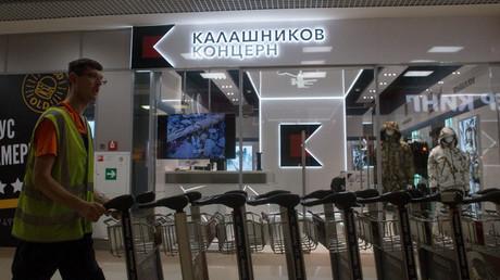 A store opened by Concern Kalashnikov at Sheremetevo Airport. © Iliya Pitalev