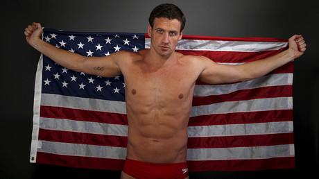 USA Swimmer Ryan Lochte © Lucy Nicholson
