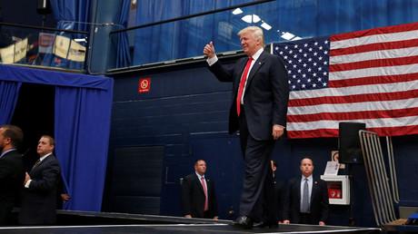 Republican presidential nominee Donald Trump © Carlo Allegri
