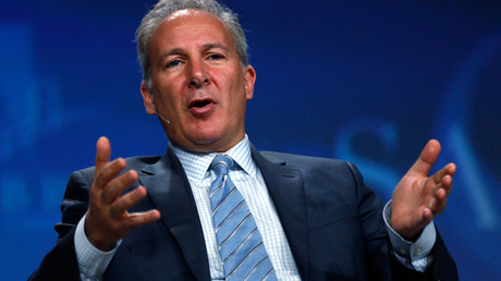 Peter Schiff, CEO of Euro Pacific Capital © Rick Wilking