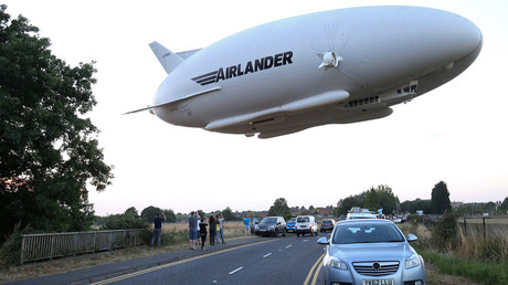 The Hybrid Air Vehicles HAV 304 Airlander 10. © Justin Tallis