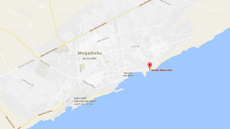 Car bomb at restaurant in Somali capital, ongoing gunfire - police