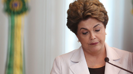 Brazil's suspended President Dilma Rousseff. ©Adriano Machado