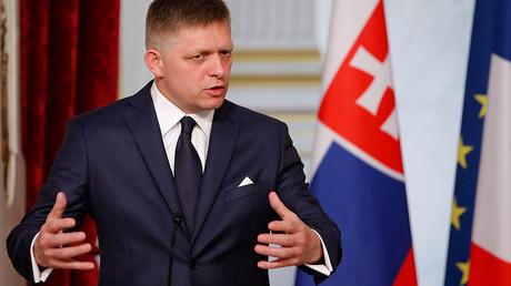Slovakian Prime Minister Robert Fico. ©Stephane Mahe