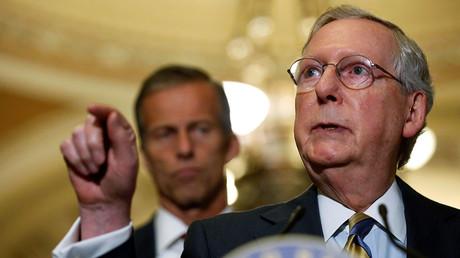 U.S. Senate Majority Leader Mitch McConnell (R-KY). ©Jonathan Ernst