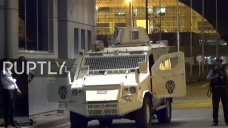 Rockets hit airport in Turkey's southeast (VIDEO)