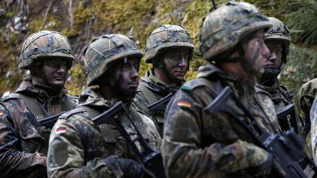 German Bundeswehr army soldiers. © Michaela Rehle