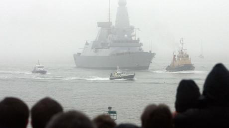 HMS Daring  © Luke MacGregor