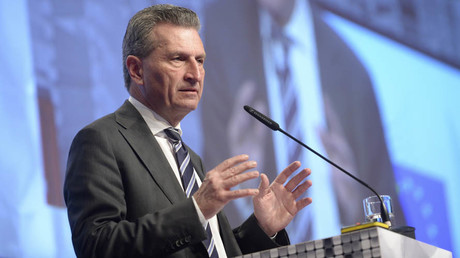 Guenther Oettinger, European Commissioner for Digital Economy and Society © Nigel Treblin