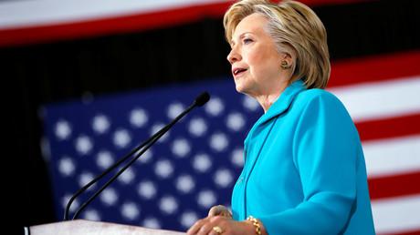 Democratic presidential nominee Hillary Clinton © Aaron P. Bernstein