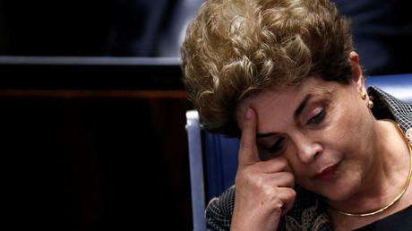 Brazil's suspended President Dilma Rousseff © Ueslei Marcelino