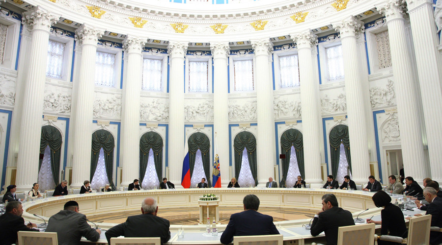 A session of the Russian Presidential Council on Civil Society Institutions and Human Rights © Michael Klimentyev