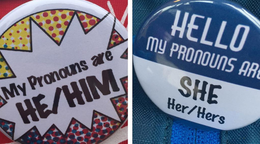 What's your preferred pronoun? Gender non-conformist students adopt new badge of courage