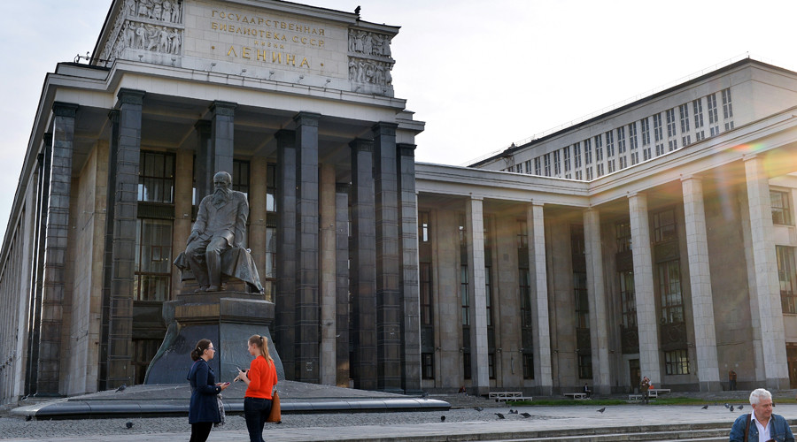 Russian State Library in Moscow evacuated after bomb threat hoax