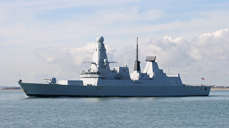 The Type 45 stealth destroyer HMS Daring © Wikipedia