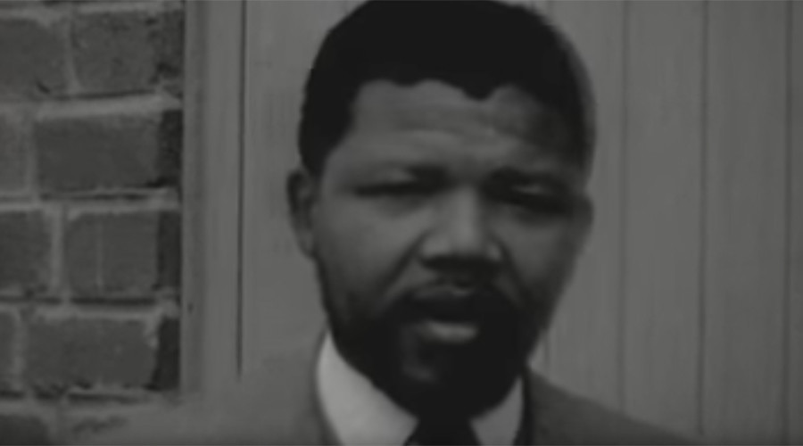 The interview is believed to have been filmed in 1956. © Nelson Mandela Foundation / YouTube