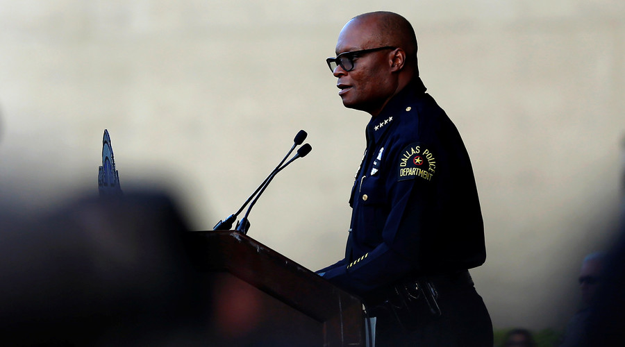 Dallas police chief David Brown. © Carlo Allegri