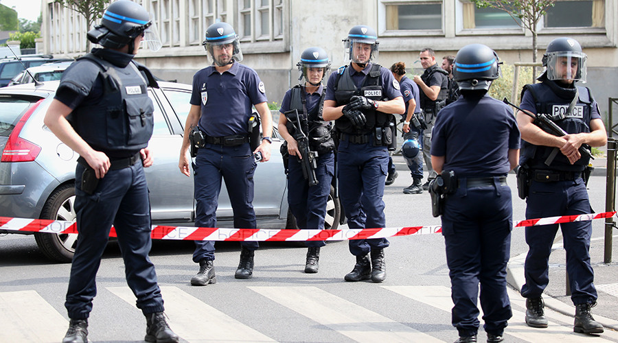 Police officer stabbed in Paris suburb, attacker shot dead