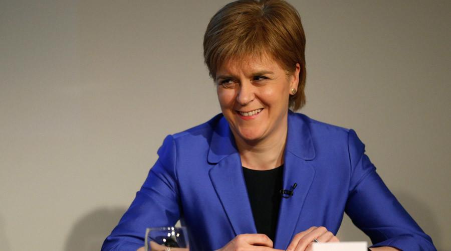 Scotland's First Minister Nicola Sturgeon © Russell Cheyne
