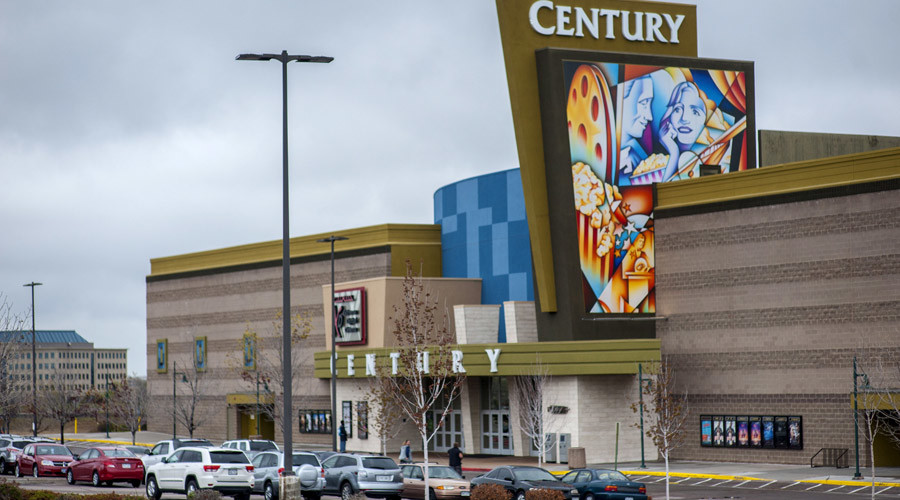 Century Aurora 16 movie theater is pictured in Colorado April 27, 2015. © Evan Semon