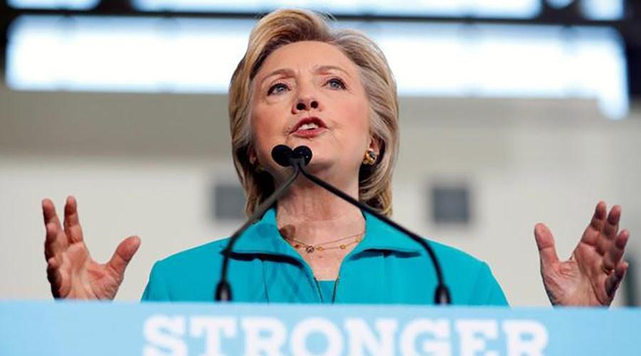 Democratic presidential nominee Hillary Clinton. © Aaron P. Bernstein