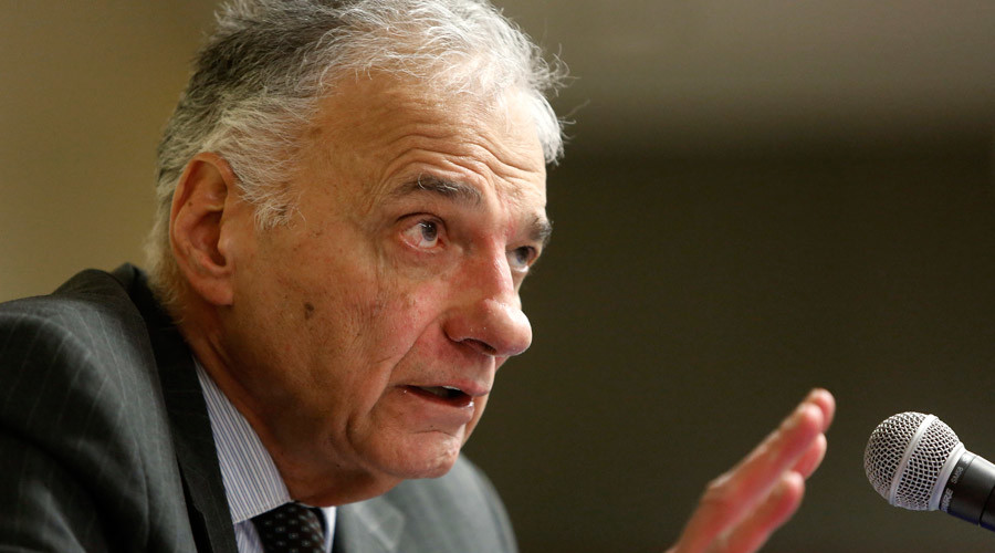 Ralph Nader: I'm not a spoiler & neither is Jill Stein