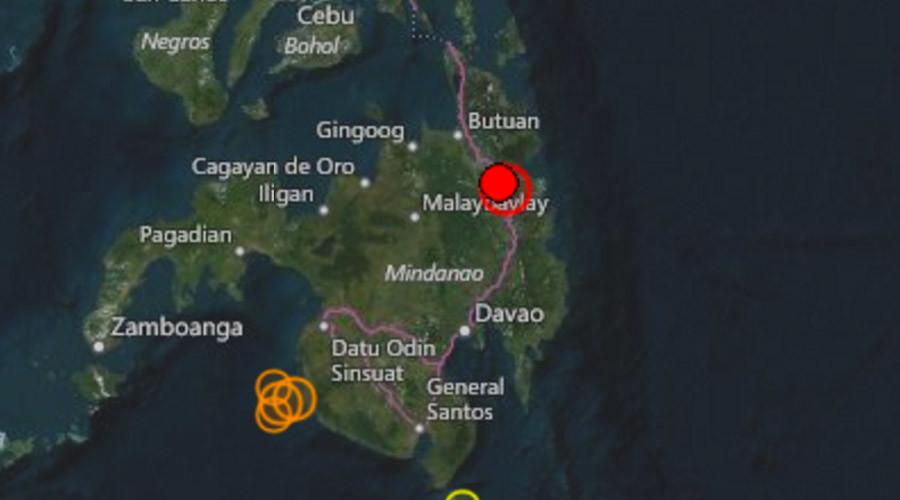 5.9 quake rattles Philippines