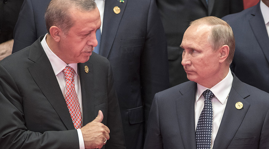 Putin & Erdogan discuss Syria and Turkish Stream at G20 summit